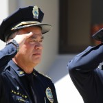 Unveiling and Retiring of Flag Ceremony for Maui Police Chief Gary Yabuta, Wednesday, July 30, 2014. Photos by Wendy Osher.