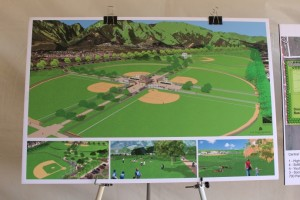 Rendering of the Central Maui Regional Sports Complex, July 31, 2014. Photo by Wendy Osher.