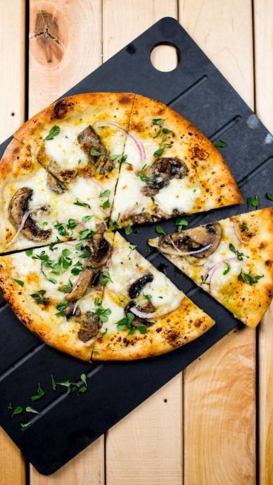 Pi's Mushroom Pizza. Courtesy image