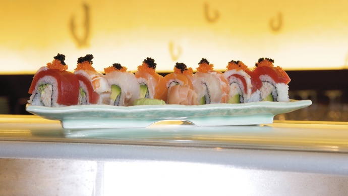 Sushi from Kai in the Ritz-Carlton, Kapalua. Courtesy image