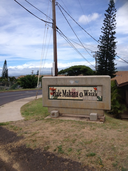 Low-income housing development Hale Makana O Waiale. Photo courtesy Linda Case.