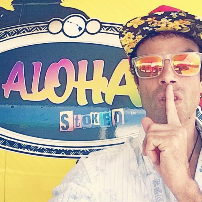 """""""Aloha Stoked"""" host Kalani Prince. Courtesy photo."""