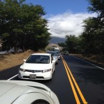 North Kīhei Road.  Photo courtesy Marion Foley.