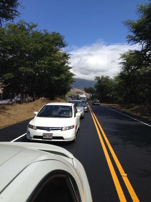 North Kīhei Road. Photo courtesy Marion Foley.