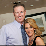 Wendi Van Briesen and her husband. Photo courtesy Lindsay Van Briesen.