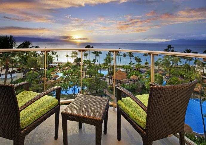 Ocean Tower - Ocean view Balcony The Westin Maui Resort & Spa, Kāʻanapali.  Courtesy photo.
