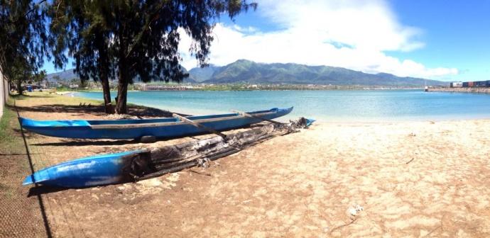 Photo courtesy Arianna Gerry, Hawaiian Canoe Club.