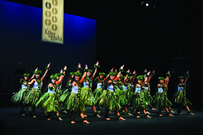 Hālau of ka Hanu Lehua. Photo credit: Marsha Aguon/ MACC.