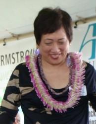 US Senator Colleen Hanabusa file photo by Wendy Osher.