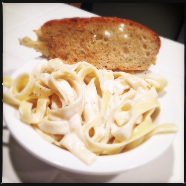 The Fettucine Alfredo. Known on the streets as El Blanco, Snow White or Cholesterol Avalanche. Photo by Vanessa Wolf
