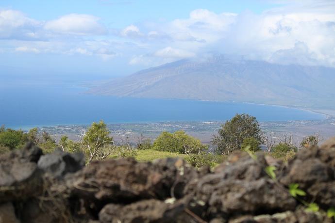 Kēōkea vantage to West Maui. Photo by Wendy Osher.