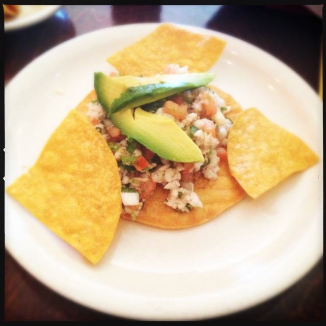 The Ceviche. Photo by Vanessa Wolf