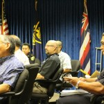 Maui Police Commission meeting 8/20/14, photo by Wendy Osher.