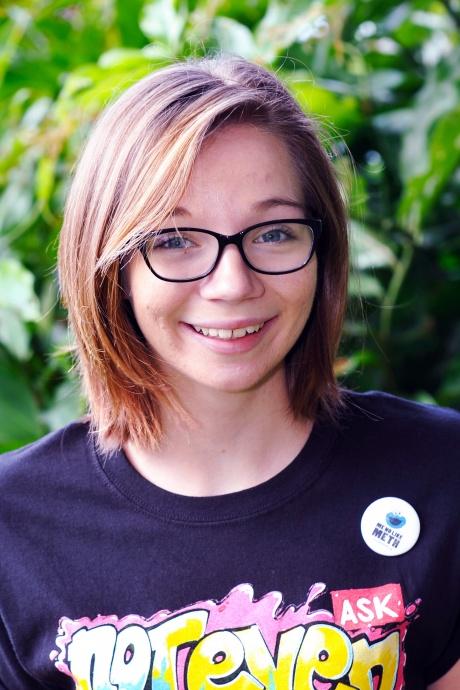 McKayla Wandell – Grade 12, Baldwin High School.  Photo courtesy Hawaiʻi Meth Project.