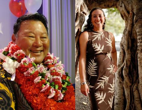 Alan Arakawa (left-file photo by Wendy Osher) and Tamara Paltin (right-file photo).