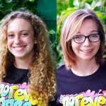 Sarah Salemi and McKayla Wandell.  Photos courtesy Hawaiʻi Meth Project.