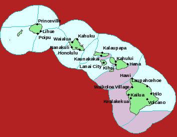 Tropical Storm Warning image, 6 a.m. HST 8/5/14. Image courtesy National Weather Service.