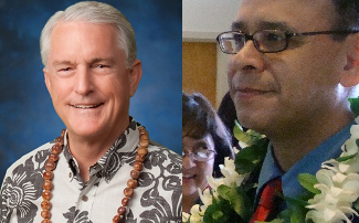 Mike White (left-file photo) and Mike Molina (right-photo by Wendy Osher).