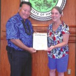 Mayor Issues Proclamation in Recognition of Constitution Week