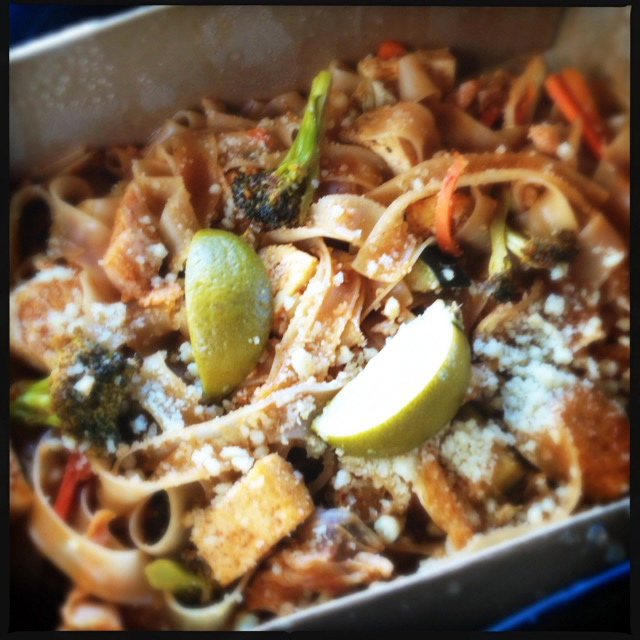 The Pad Thai. Not so much. Photo by Vanessa Wolf
