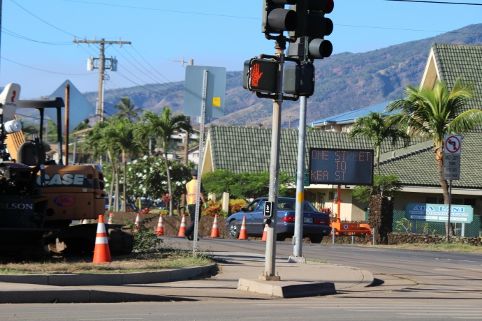 Papa Avenue road reconstruction, 9/16/14. Photo by Wendy Osher.
