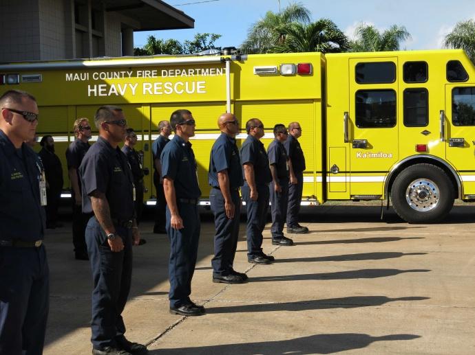 LIST: Maui Fire Department Promotions