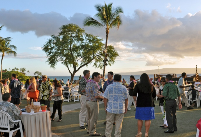 The Luau Grounds of the 2013 event. Courtesy image