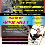 Movie night event flyer. Courtesy image.