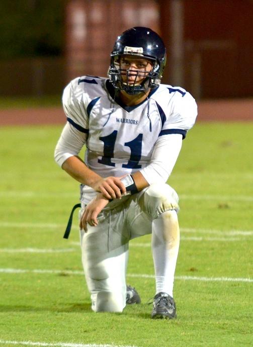 Kamehameha Maui quarterback Chase Newton. Photo by Rodney S. Yap.