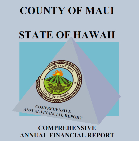County of Maui Comprehensive Financial Report.
