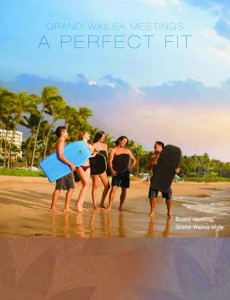 """Glick Design. Grand Wailea: """"A Perfect Fit"""", 12-page electronic Flipbook on the GW website. Courtesy image."""