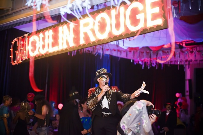 Ghoulin Rouge: Haunted Prom. Photo by Kristin Mills, courtesy Montessori School Maui.