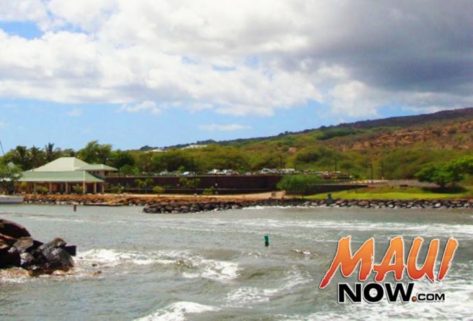 Mānele Bay at Lānaʻi, file photo by Wendy Osher.