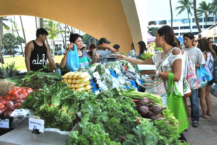 If passed, supporters say Constitutional Amendment 2 would allow local farmers to improve their operations and increase Hawaiʻi's local food supply. Courtesy photo: Local Food Coalition.