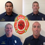 Maui Fire Department Announces 4 Promotions