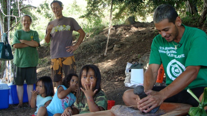 Food sovereignty leader, local farming advocate, driving force behind the movement to bring kalo back to our classrooms, kitchens and local economies. File photo by Wendy Osher.