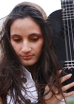 Taimane Gardner: dazzling and innovative ukulele virtuoso and songwriter. TEDxMaui courtesy photo.