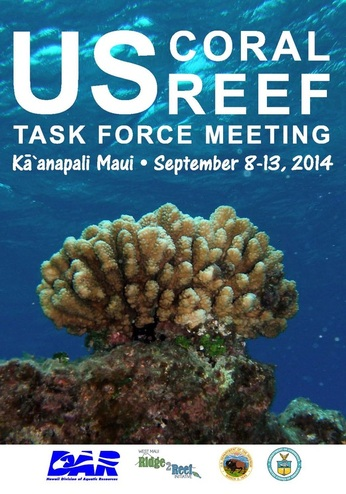 US Coral Reef Task Force Meeting, courtesy image.