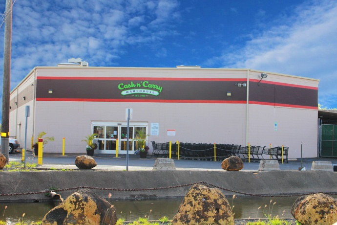 VIP Cash n' Carry changes its name to Island Grocery Depot. Photo by Wendy Osher.