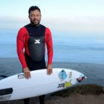 Surfer Sunny Garcia in action at Baja Malibu Break on September 26, 2014 in Baja California, Mexico. Courtesy photo by Donald Miralle for Xterra.