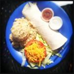 The Breakfast Burrito. Photo by Vanessa Wolf