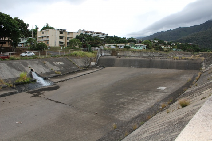 Following the release, some who visited the Happy Valley area to witness the flow downstream expressed disappointment in the small amount of water that was traveling downhill after another diversion at the Spreckels Ditch controlled by Hawaiian Commercial and Sugar Company.