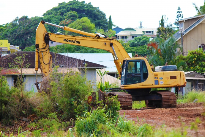 Mokuhau affordable housing breaks ground. Photo by Wendy Osher.