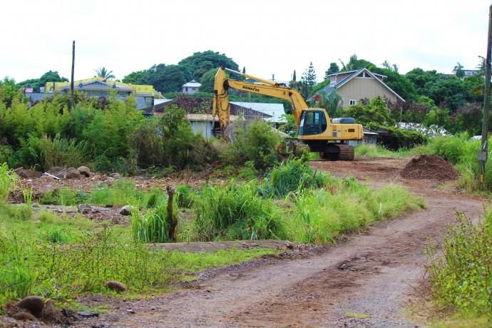 Mokuhau affordable housing breaks ground. Photo by Wendy Osher.