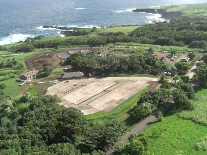 New Kīpahulu facilities. Photo courtesy Haleakalā National Park.