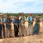 Nuʻu Aina groundbreaking, courtesy photo.