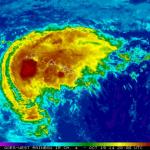 Hurricane ANA mainly rain event for Maui County