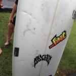 PHOTOS: 12-14 Foot Shark Bites Board of Surfer in Māʻalaea, No Injuries