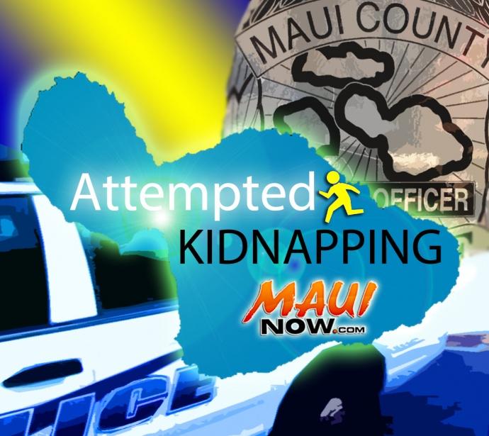 Attempted Kidnapping Near Maui Waena