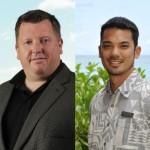 Brian Hunnings (left) and Sean Ganhinhin (right). Photos courtesy Sheraton Maui Resort & Spa.